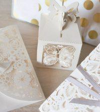 Cutii pentru prajituri la nunta